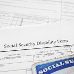 A social security disability form, workers comp