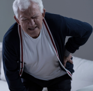 elder with back pain, nursing home abuse