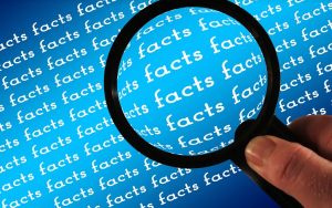 magnifying glass searching facts, nursing home